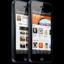 Smartphone Apple iOS iPhone 5 icon