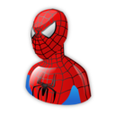 spiderman, cartoon icon