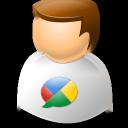 user, google, buzz icon