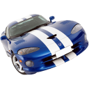 racing car, vehicle, transport, transportation, dodge, car, sports car, automobile icon