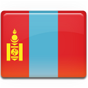 flag, mongolia, country icon