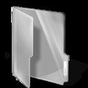 white,folder icon