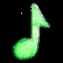 music, sound, nodes icon