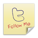 Follow, It, Me, Post, Twitter icon