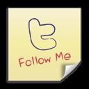 Follow, It, Me, Post, Twitter icon