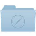 Folder, Safari icon