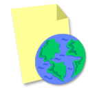 File, Web icon