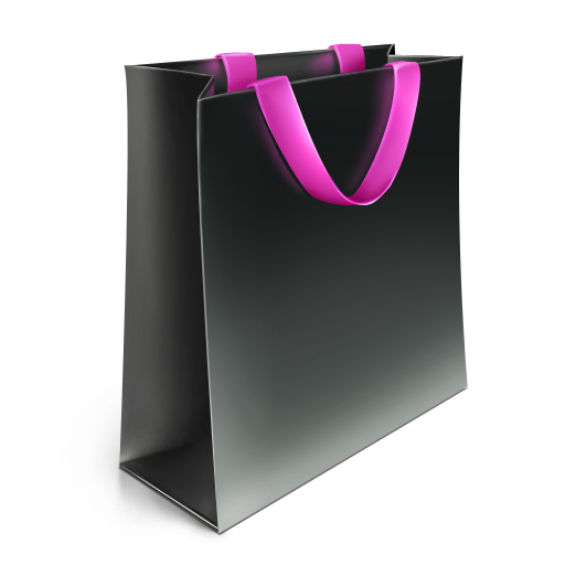bag, big, pink icon