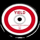 Optical Disc Yield icon