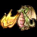 fire,dragon icon