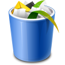 full, trash, bin, recycle, recycle bin icon