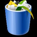 full, trash, bin, recycle, recycle bin icon