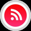 media, rss, social, logo icon