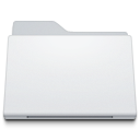 , Folder, Generic, White icon