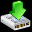 hard, downloads, drive icon