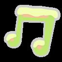 Cm, Music icon