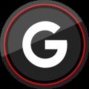 social, media, google, logo icon