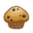 blueberry,muffin icon