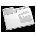 movie, folder, video, film icon