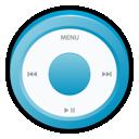ipod, blue icon
