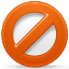 denied, block icon
