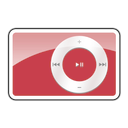 2g, red, ipod, shuffle icon