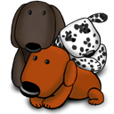 gaming, game, puppy icon