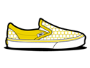 Star, Vans, Yellow icon