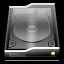 Black InternalDrive icon