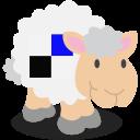 social network, delicious, sheep icon