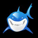 fish, shark, animal icon
