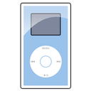 ipod, blue, mini icon