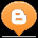 social balloon blogger icon