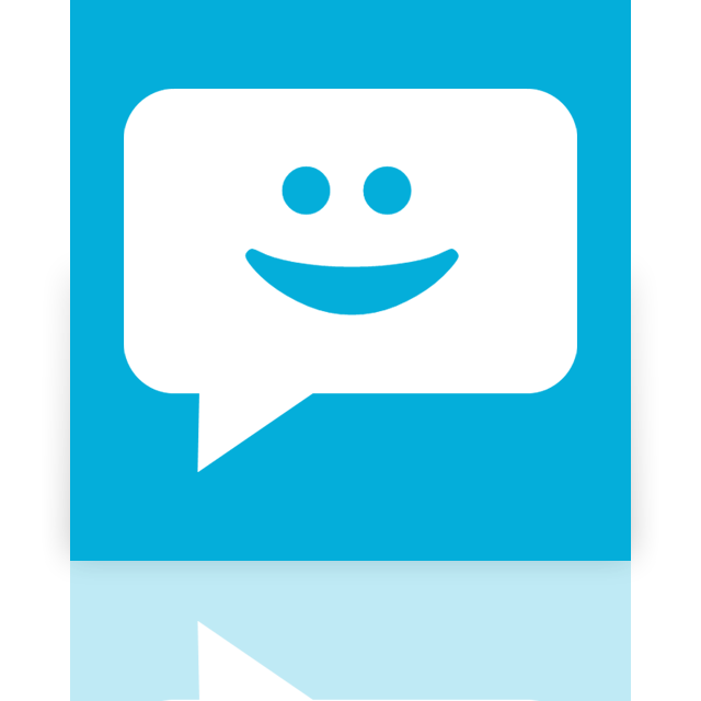 mirror, messaging icon