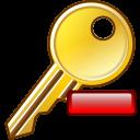 remove key icon