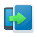 transfer, data icon