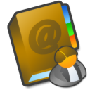 adressbook,manager icon