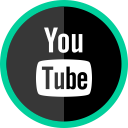 social, logo, youtube, media, online icon