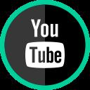 social, logo, youtube, media, online icon