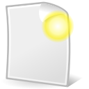 file, document, new, paper icon