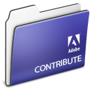 adobe, contribute, folder icon