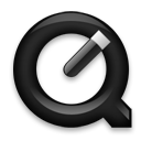 quicktimeplayer,black icon