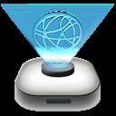 drive, modern, network icon
