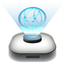 network, modern, drive icon