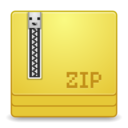 mimes zip application icon