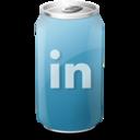 drink,linkedin icon