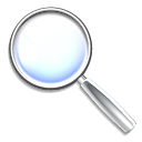 search, zoom, find, seek icon
