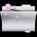 white, folder icon