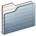generic,folder,graphite icon
