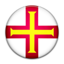 guernsey, country, flag icon